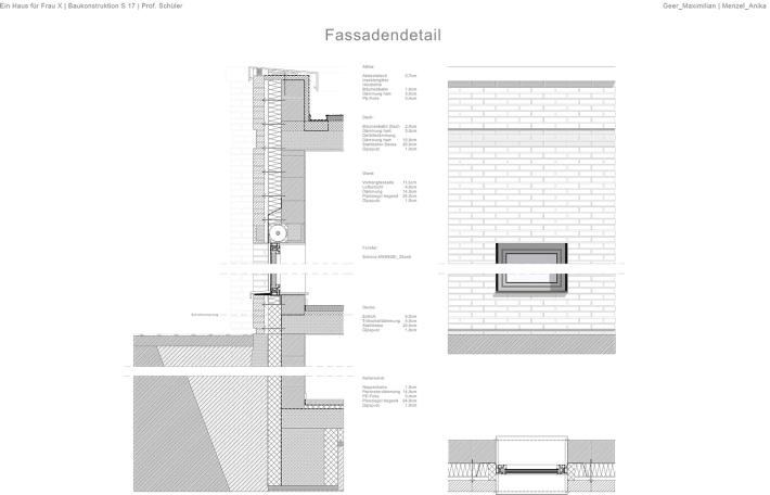 Fassadendetail _ Layout